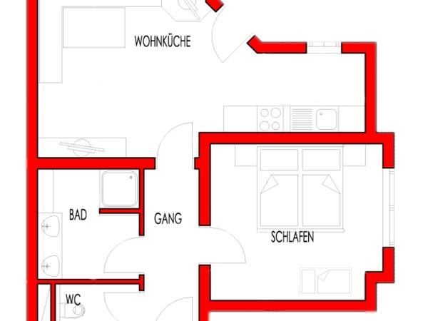 Plan Appartement Typ A