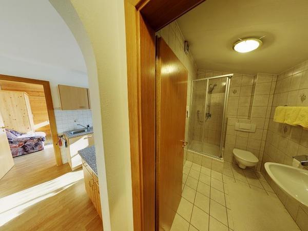 Badezimmer Appartement 1