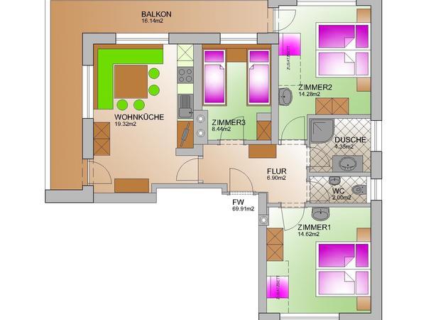 Umbau-ferienwohnung-schiestl-Model