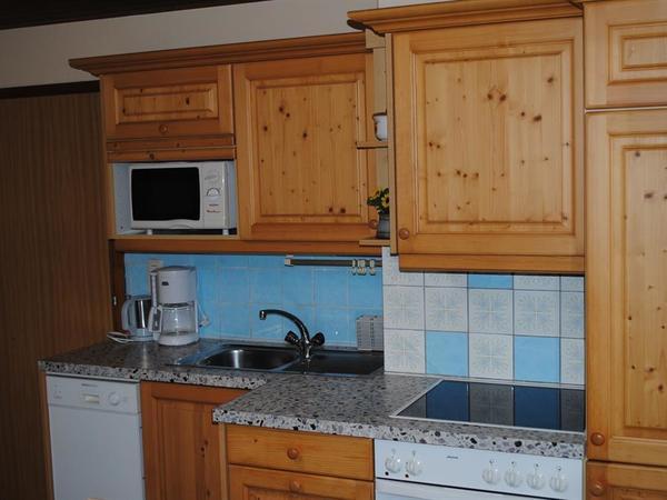 Küchenblock Fewo mit Balkon