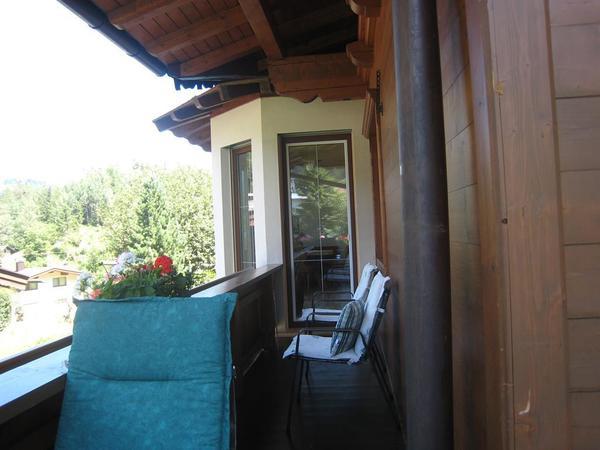 Balkon Fernblick