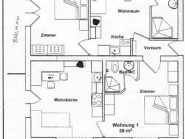 Große Wohnung