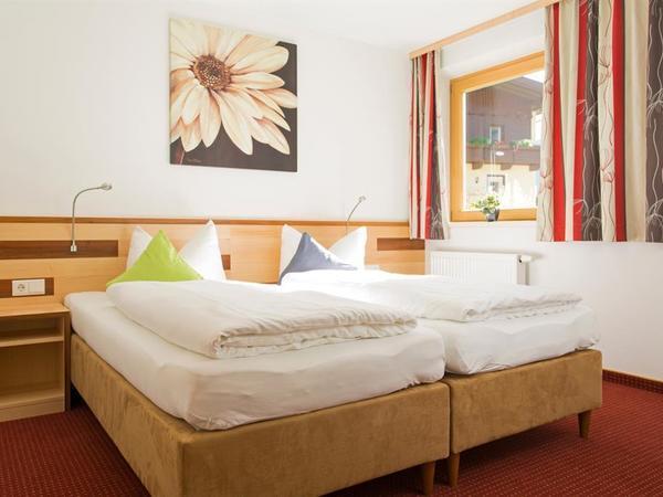 Doppelzimmer Betten kann man trennen