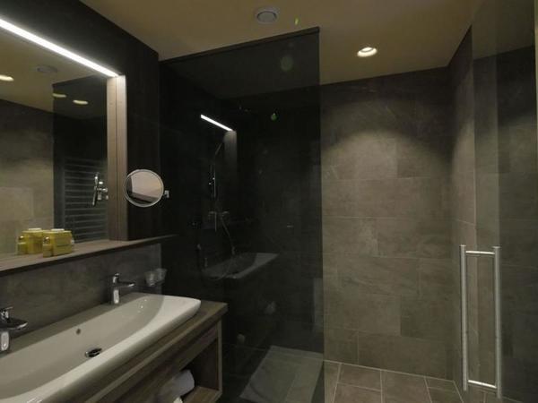 2-raum familiensuite das zillertal badezimmer
