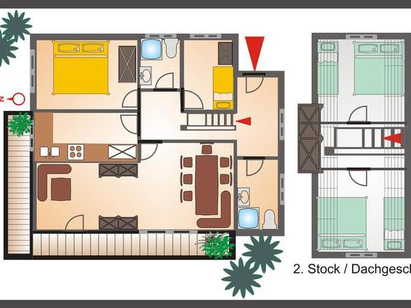 Plan Wohnung `Johannes`