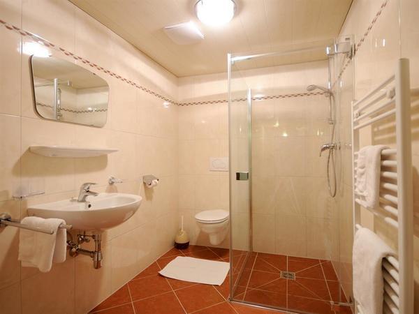 Dusche/WC im Kellergeschoss