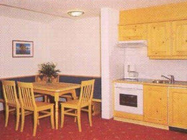 Apart-Hotel-Garni Strasser - Küche