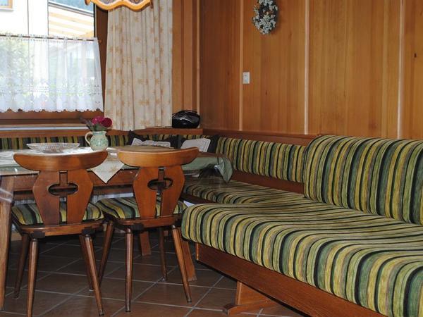 Fewo Terrasse Sitzecke Küche