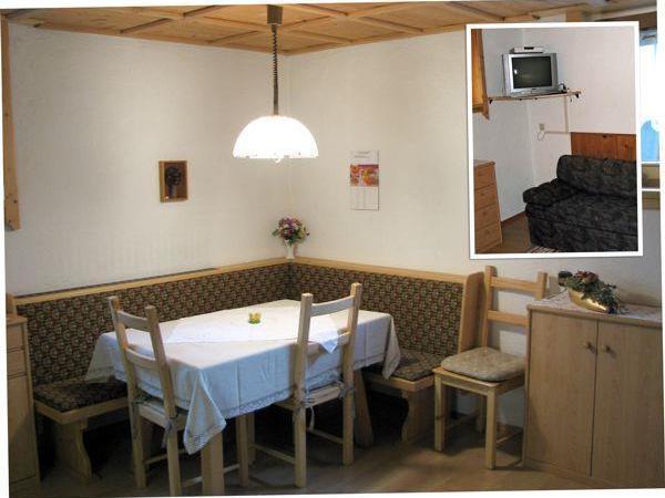 Appartement 3 - Esstisch