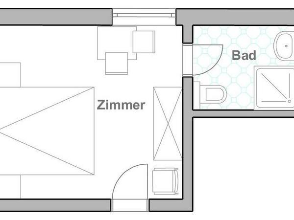 Doppelzimmer Tirol