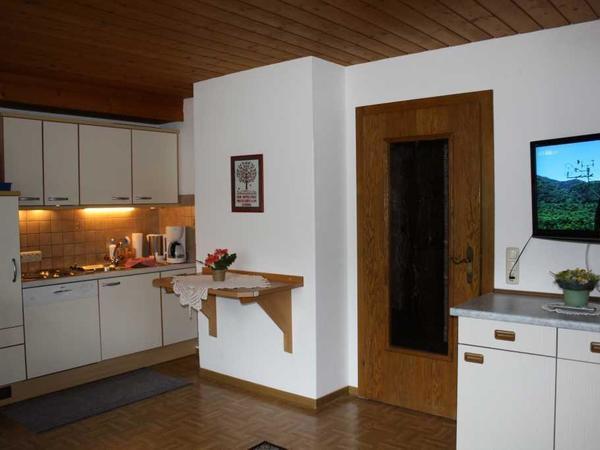 Abensonne-Wohnküche