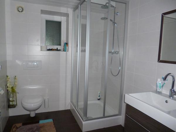 Dusche für Zimmer 1+2