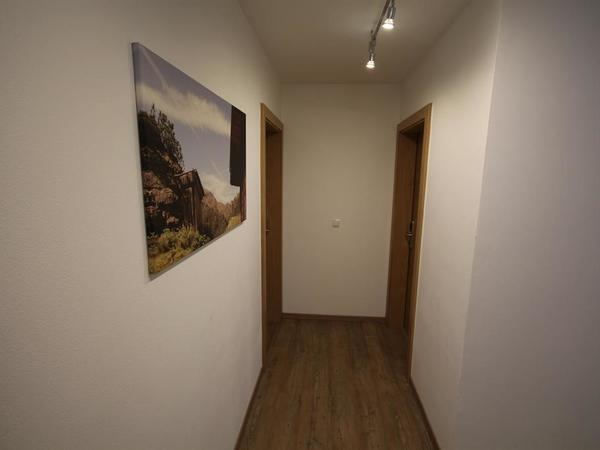 Eingangsbereich zu den Schlafzimmern