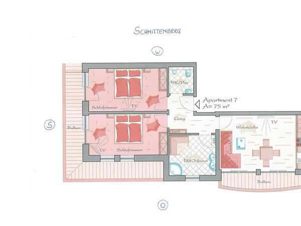 Superior Apartment `Schmittenberg`