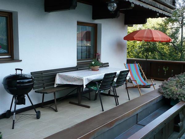 Ausstattung Terrasse