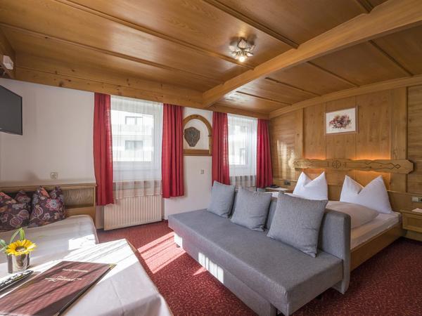 Dreibettzimmer Gasthof Zellerstuben
