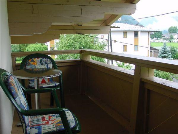 Apartment Gerlosstein Balkon