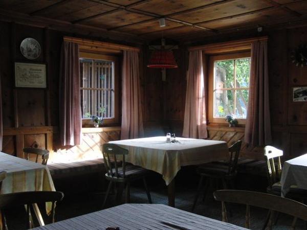 Aufenthalts-Frühstücksraum