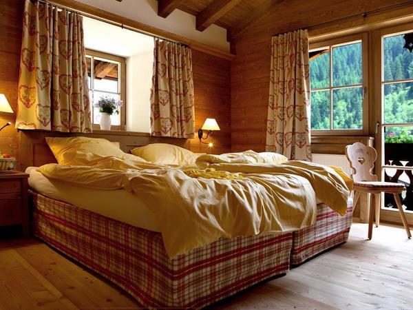Schlafzimmer im Bergchalet