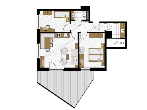 Apartment Smaragd
