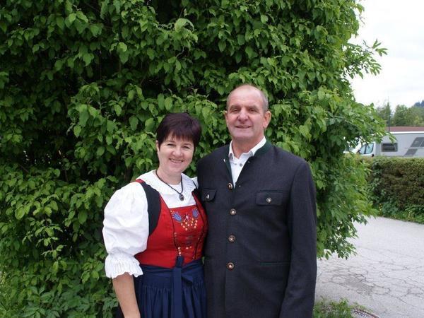 Gastgeber Marianne und Jakob Kammerlander