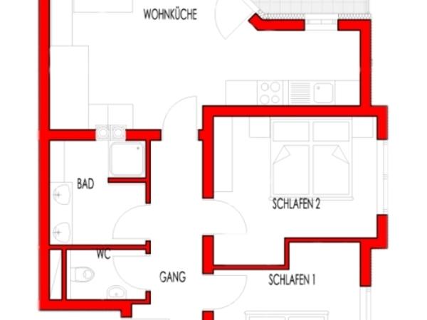 Plan Appartement Typ B