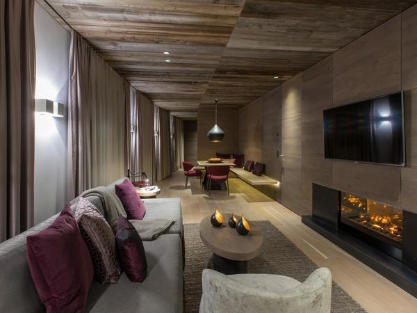 Heaven Penthouse Suite Wohnraum