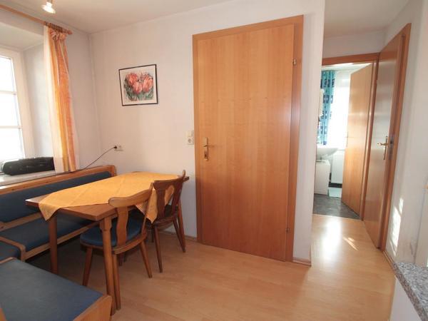 Stanzl Haus Apartment Dorfplatz Essbereich