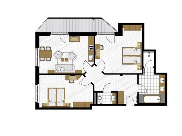 Apartment Rubin