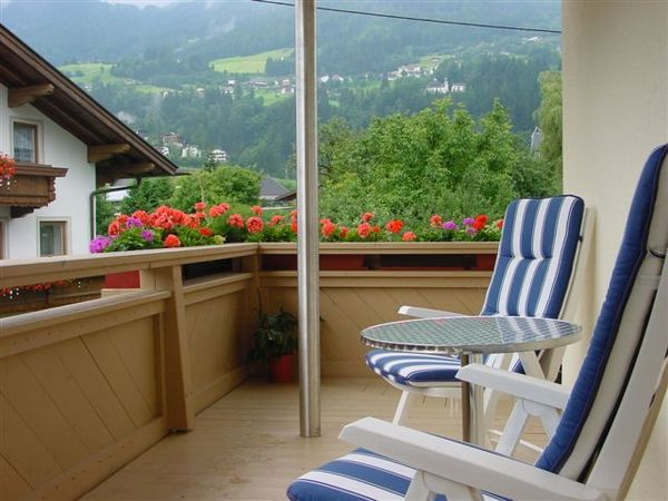 Apartment Kreuzjoch Balkon
