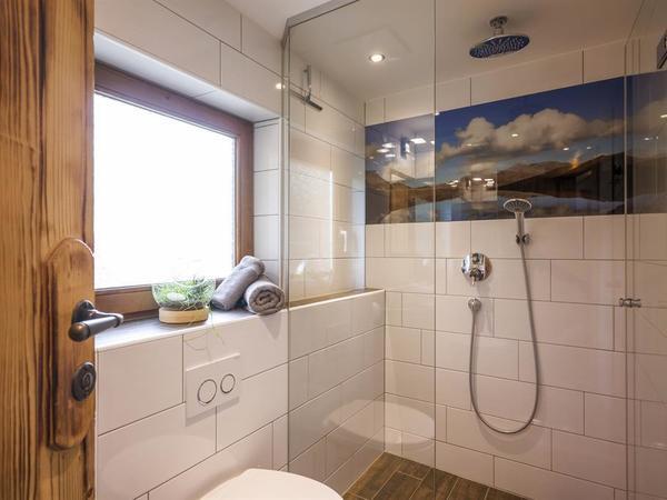 Badezimmer mit Riesendusche