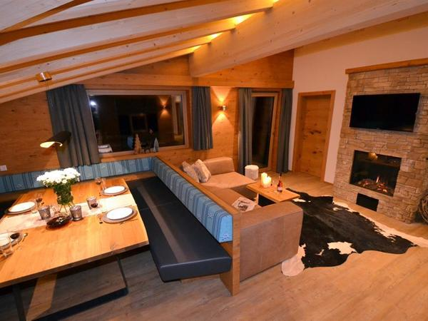 Wohnzimmer Apartment Gipfelwind