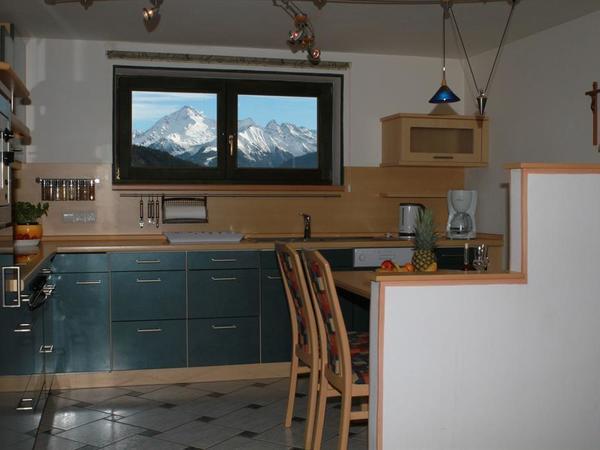 Küche,Fewo 2 Schlafzimmer