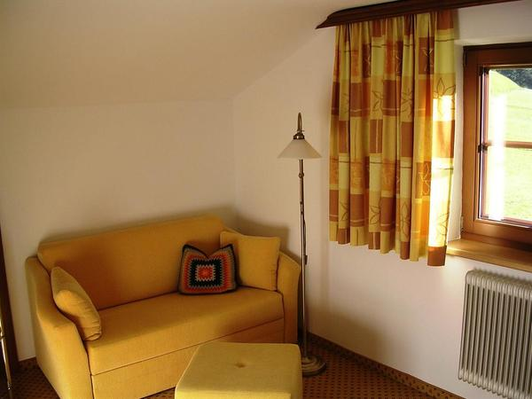 Familienzimmer Sitz/Schlafcouch 2
