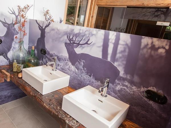 Badezimmer Saunabereich