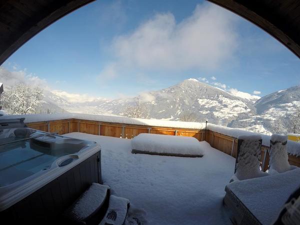 Comfort Chalet mit Panorama Terrasse