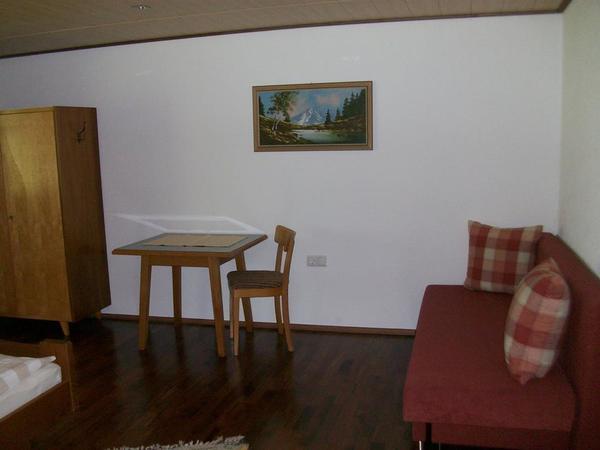 Grosses Dreibettzimmer