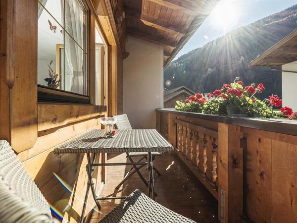 Balkon mit sonniger Lage