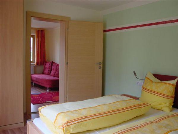 Apartment Hainzenberg Schlafzimmer