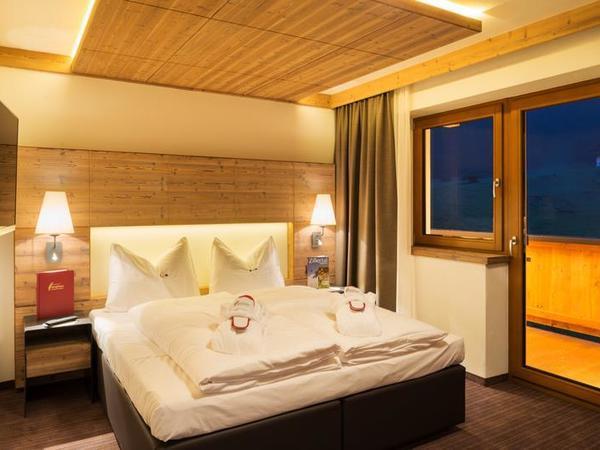Komfort Suite-Schlafzimmer