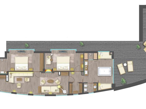 Heaven Penthouse Suite