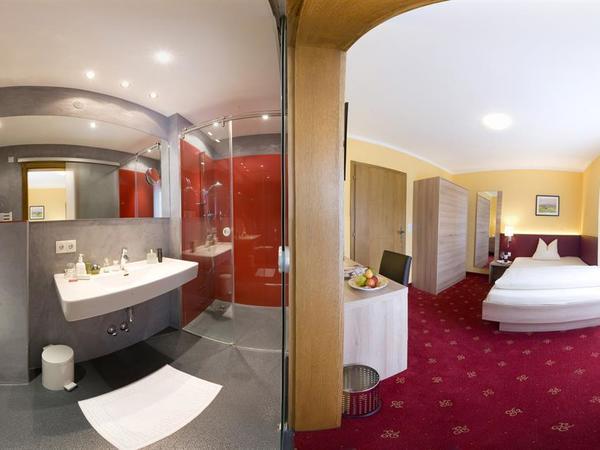 Einzelzimmer XL + Badezimmer