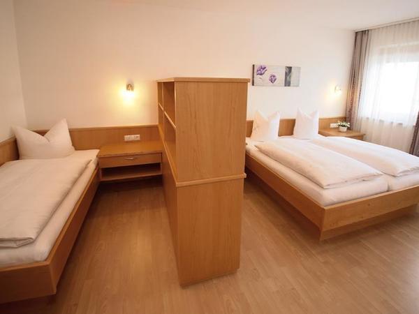 dreifach-Schlafzimmer