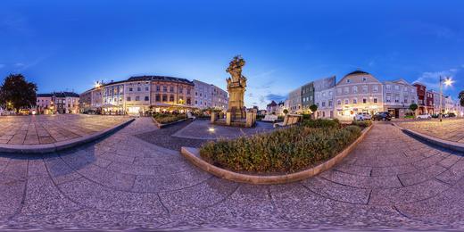 Stadtplatz Eferding - © WGD Donau Oberösterreich Tourismus GmbH / Weissenbrunner