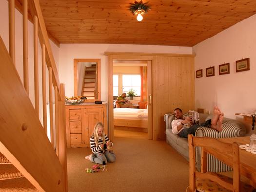 Maisonette Suite Hotel Bergrose. (© WTG)