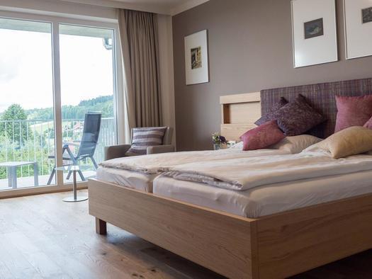 Doppelzimmer im 4-Stern-Hotel (© Keplingerwirt)