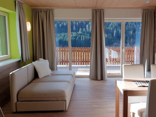 Wohnzimmer (© Ferienhaus Mountain View)