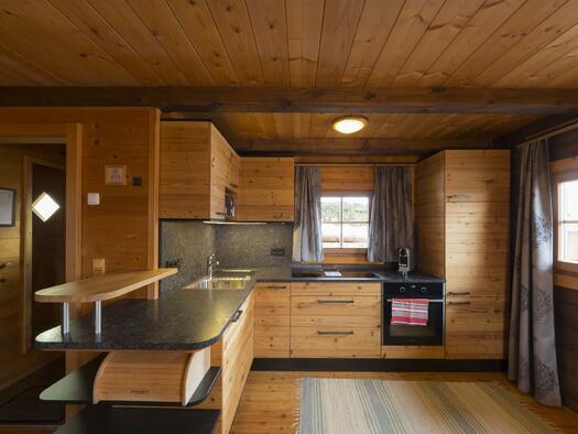 Almresort-Hütte Küche