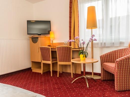 Familienzimmer Detail (© Hotel Haberl)