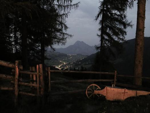 Nachtaussicht (© Kreitalm)
